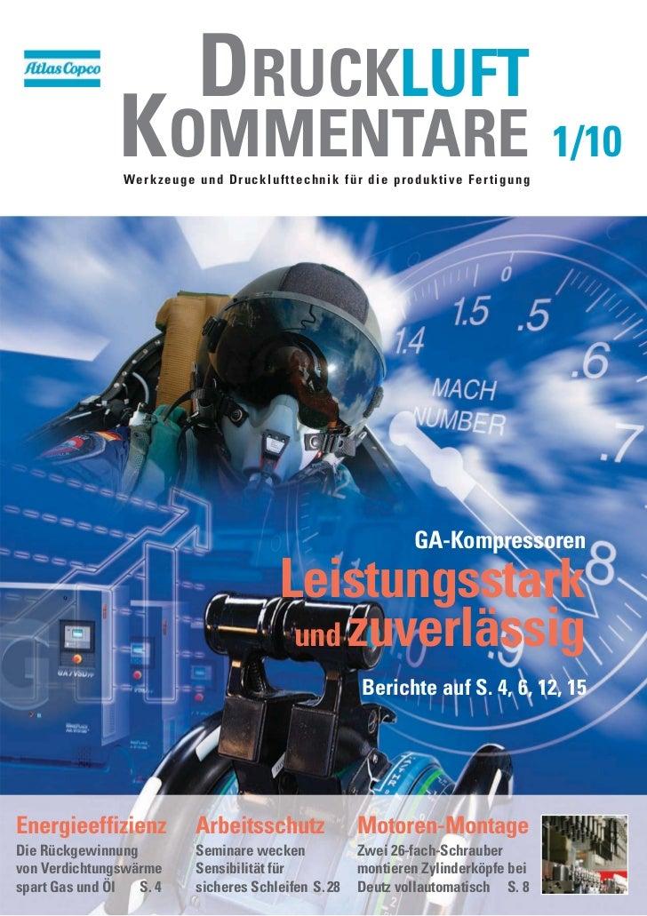 Atlas Copco - Druckluftkommentare 1_2010