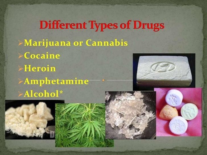 different types of drugs br ul li marijuana or cannabis