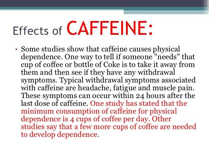Write my essay about caffeine