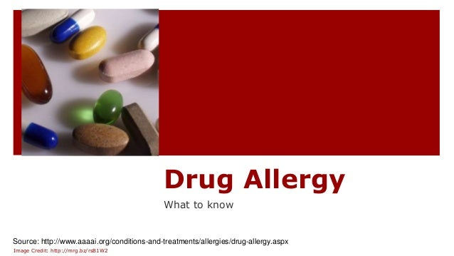 10 diseases caused by drug allergy