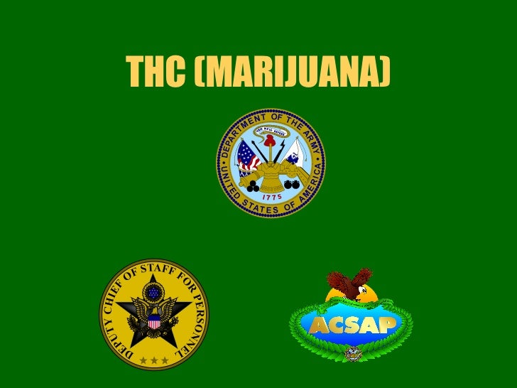 THC (MARIJUANA)