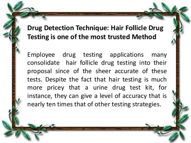 cocaine abuse detection with double confirmation technique Substance abuse and mental health services administration  methods for  detecting illicit drug users (ie  by a tested individual when a confirmed  positive.
