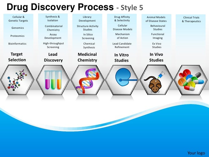 Drug Discovery Process - Style 5 Cellular & Synthesis & Library Drug ...