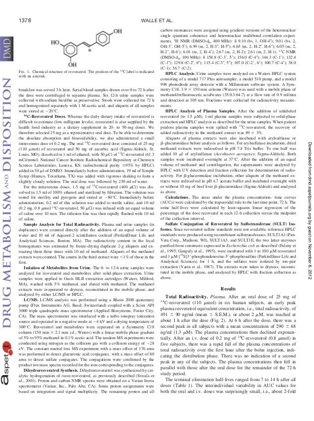Drug metabolism and disposition 2