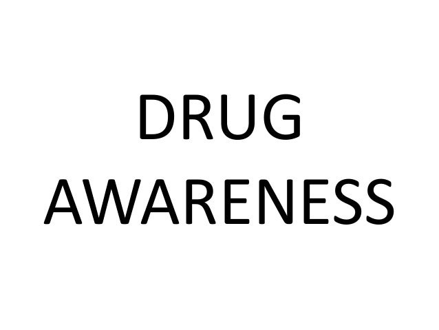 Drug awarness with images