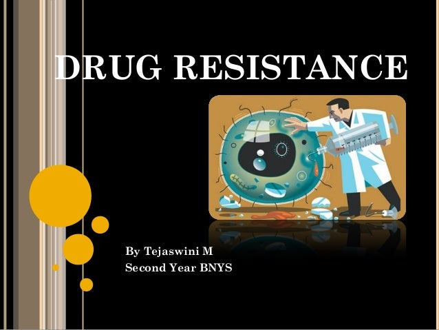 DRUG RESISTANCE By Tejaswini M Second Year BNYS