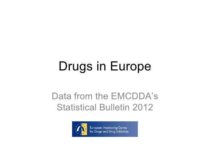Drugs in Europe