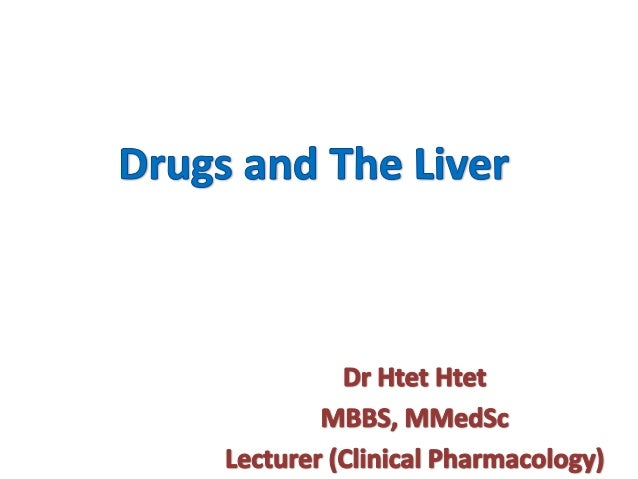 • Pharmacokinetics of many drugs are altered in hepatic  diseases • The extent of alteration depends on – The elimination ...