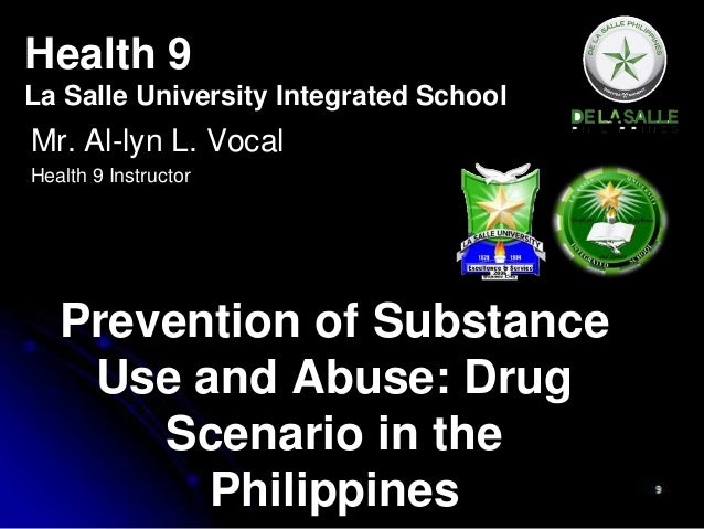 reaction papers about drugs in the philippines