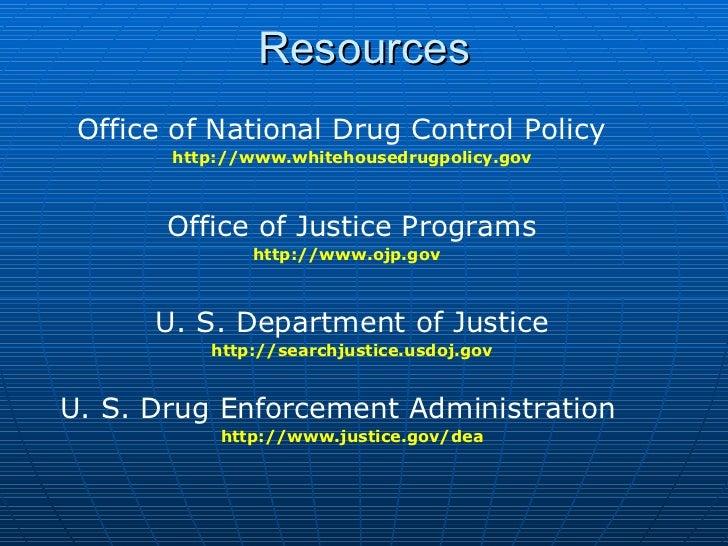 Drugs & crime