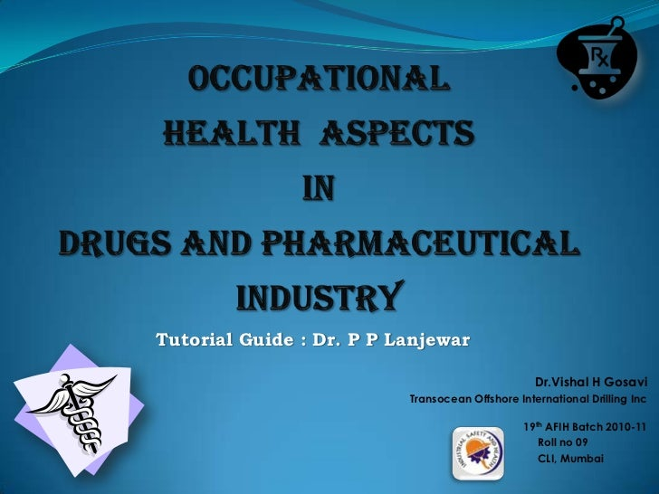 Drugs & Pharma (Ppt)