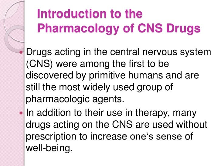 drugs and the nervous system notes What do drugs do to your nervous system narconon drug prevention specialist, bobby wiggins, gives drugs facts.