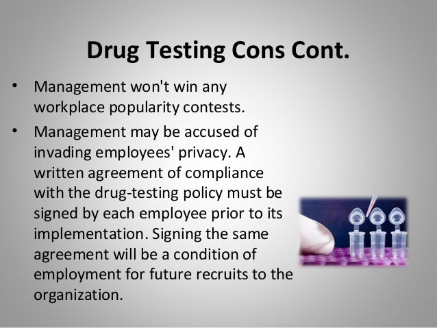 against drug testing in the workplace essay