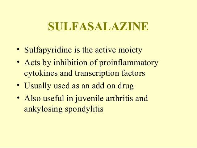 Sulfasalazine For Rheumatoid Arthritis Symptoms