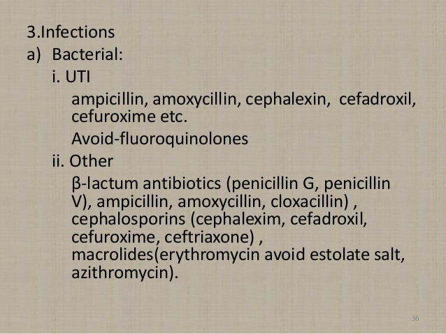 Ceftriaxone and azithromycin for uti