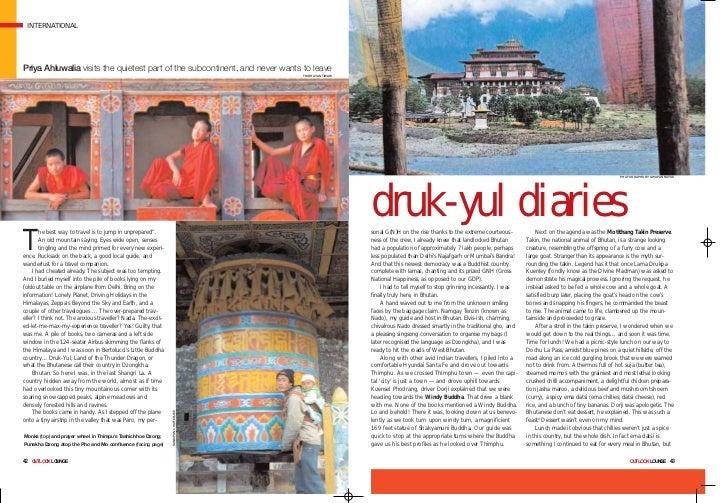 Druk yul diaries- Holidays in Bhutam
