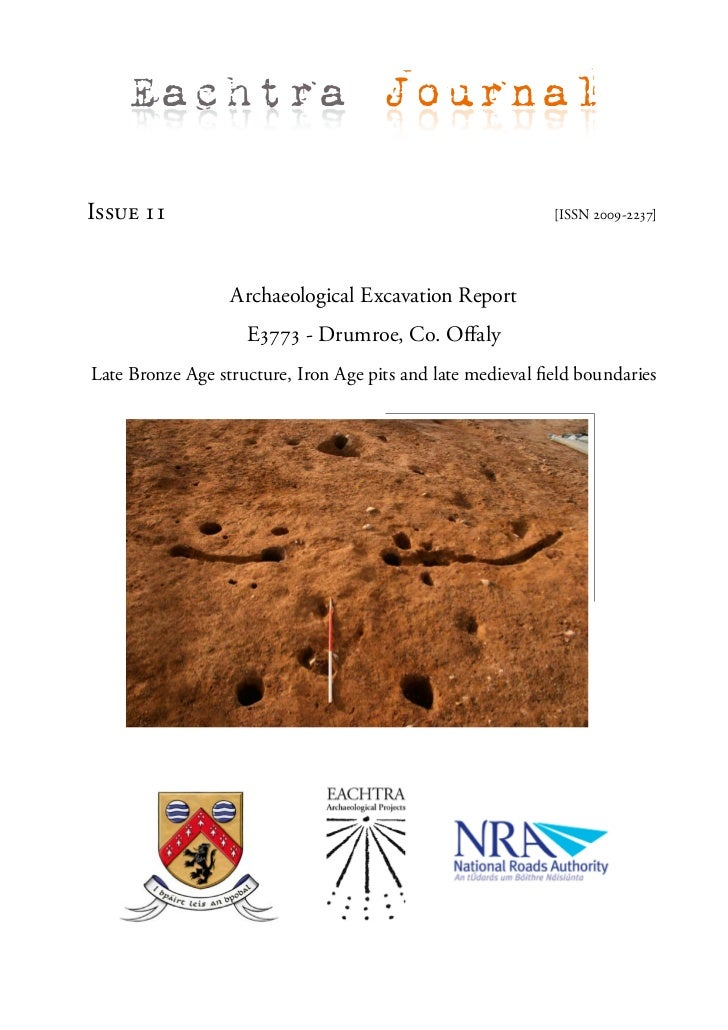 Archaeological Report - Drumroe, Co. Offaly (Ireland)