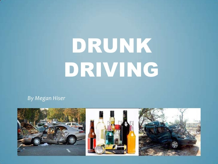 Drinking And Driving Ppt Presentation
