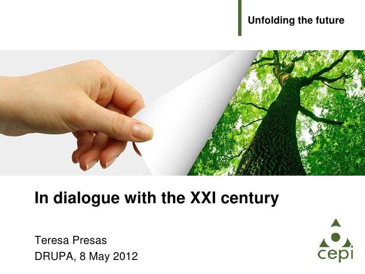 European Paper day at Drupa: In dialogue with the 21st century