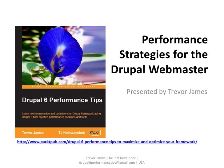 Drupal 6-performance-tips-slideshare