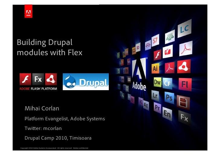 Building Drupal modules with Flex                                                                                         ...