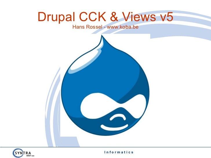 Drupal Views Cck Hans Rossel