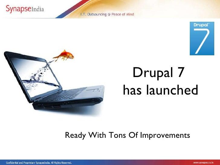 Drupal 7 Application Development India