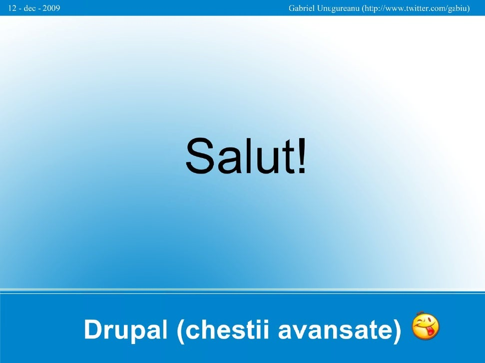 Drupal Case Study