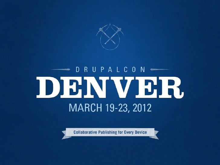 Don't Get Lost in Translation: Multilingual Site Building with Drupal 7 at DrupalCon Denver