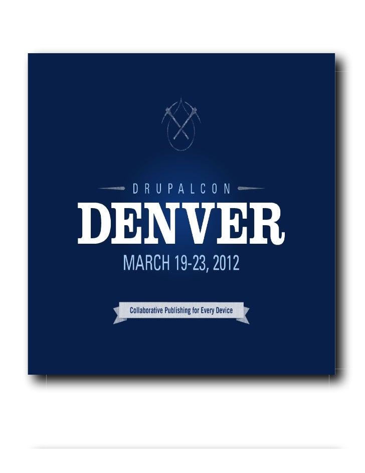 Zagat.com Case Study (DrupalCon Denver 2012)