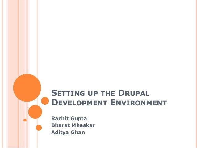 Drupal development environment