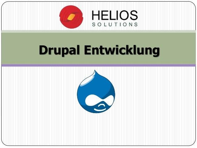 Drupal Entwicklung