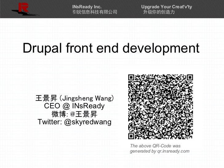 Drupal Front End Development