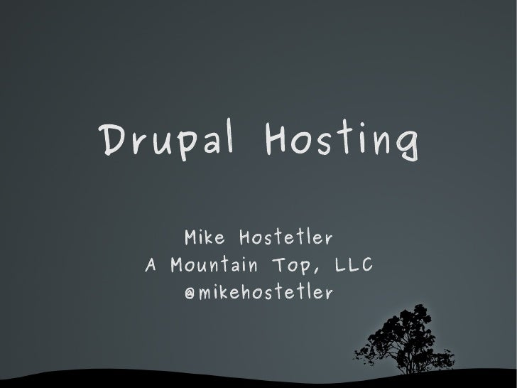 Drupal Hosting - What you get and how much it should cost