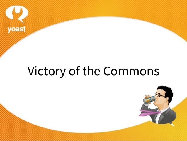 Victory of the Commons - Drupaljam 2013 Rotterdam