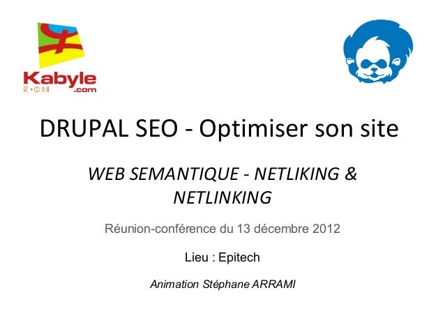 Drupal SEO - Optimiser son site