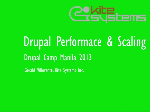 Agenda●   About Kite Systems and myself●   Performance●   Caching●   Scaling●   Optimizing