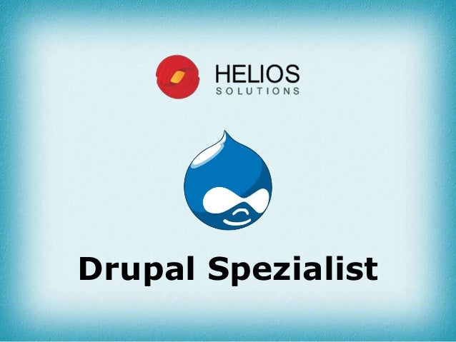 Drupal Spezialist