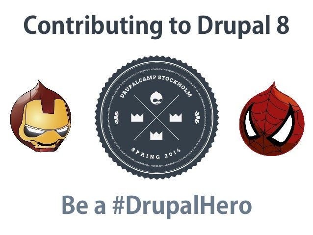 Contributing to Drupal 8