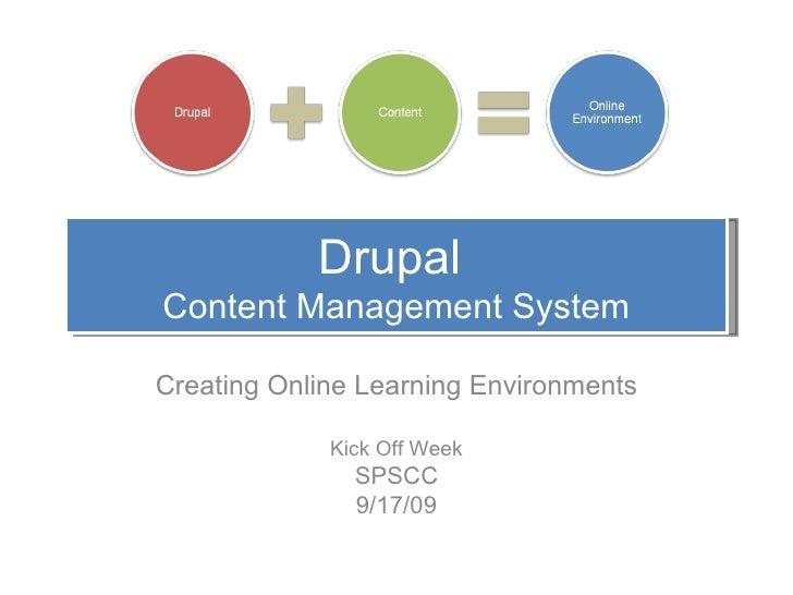 Drupal Workshop