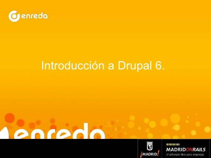 Introducción a Drupal