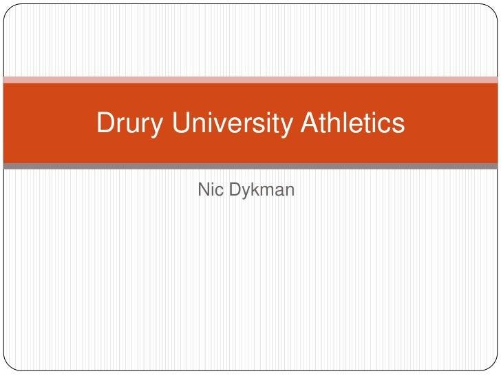 Drury university athletics