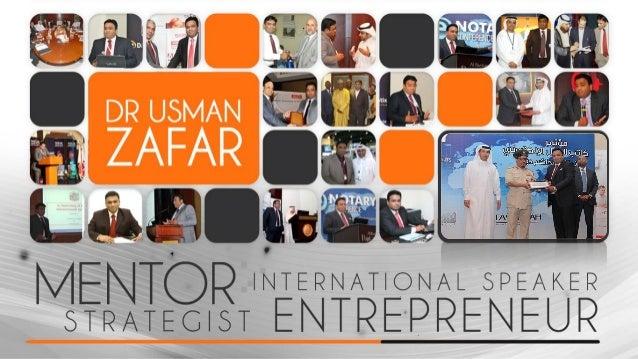 Dr Usman Zafar Profile 2014- Achievements- Success Stories