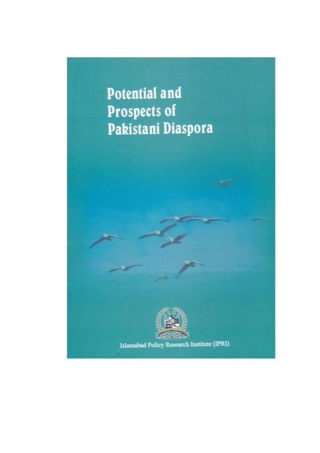 Potentil and Prospects of Pakistani Diaspora  1