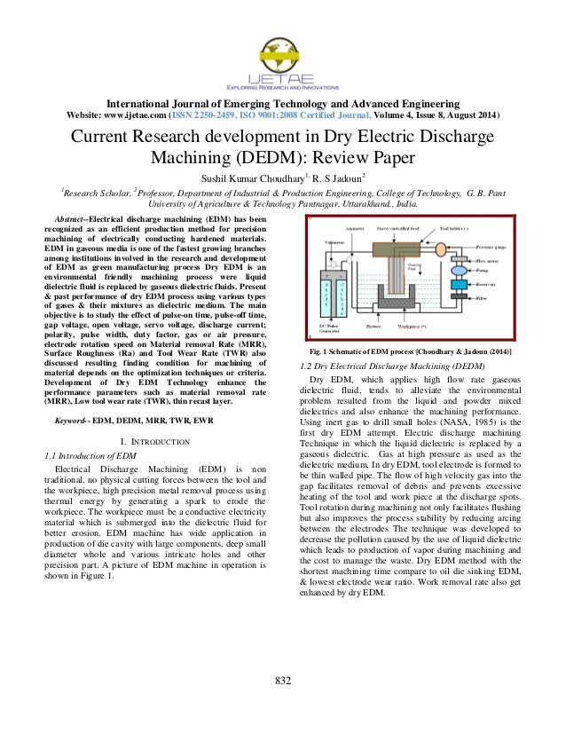 Electrical Engineering research summary paper