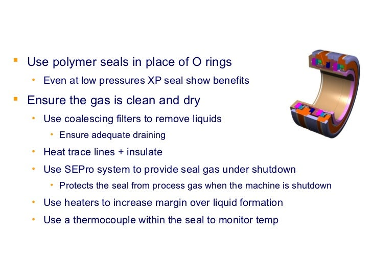 Thermocouple Gland Packing : Dry gas seal presentation