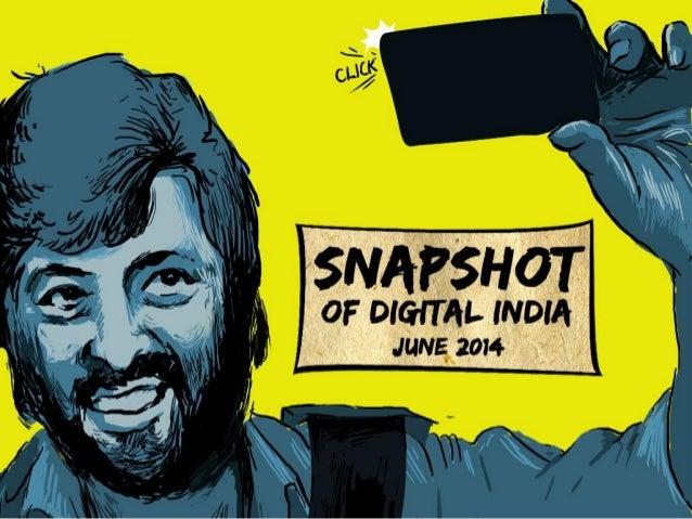 Snapshot of Digital India – June 2014