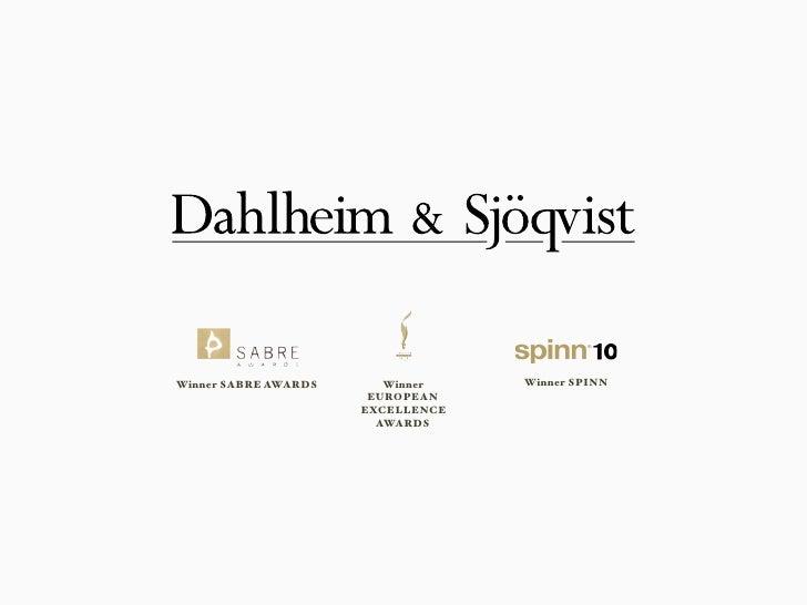 Dahlheim & Sjöqvist Selected Cases