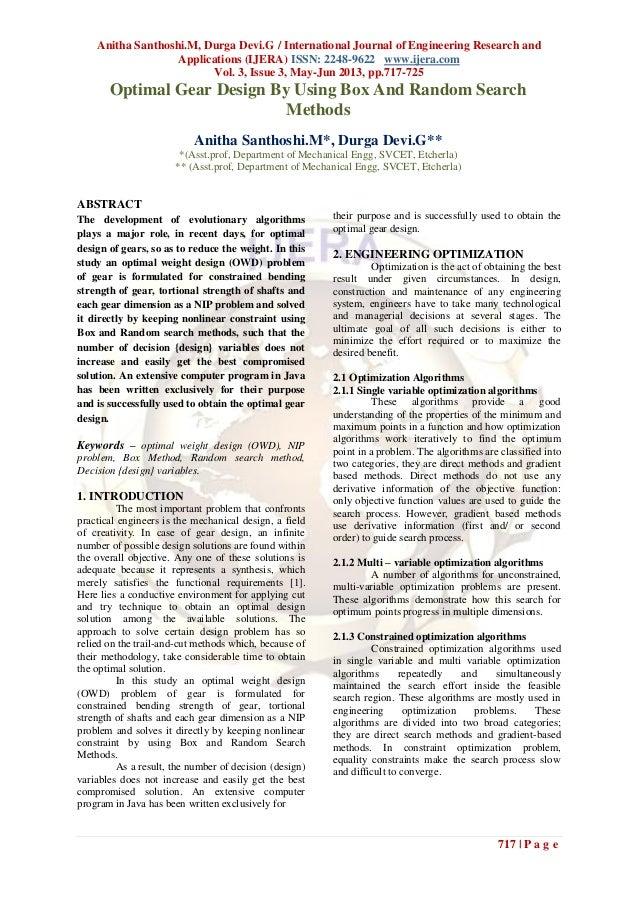 Anitha Santhoshi.M, Durga Devi.G / International Journal of Engineering Research andApplications (IJERA) ISSN: 2248-9622 w...