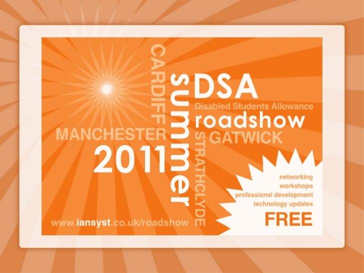 DSA Roadshow - InCider